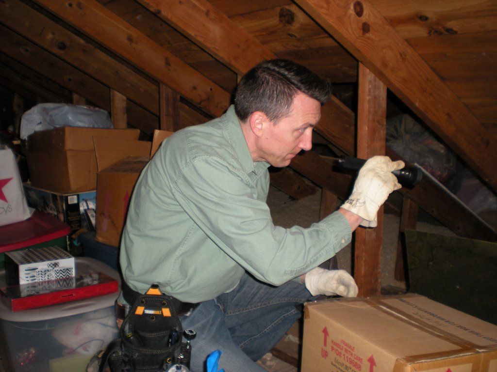 Attic Inspection in Shawnee Hills, OH
