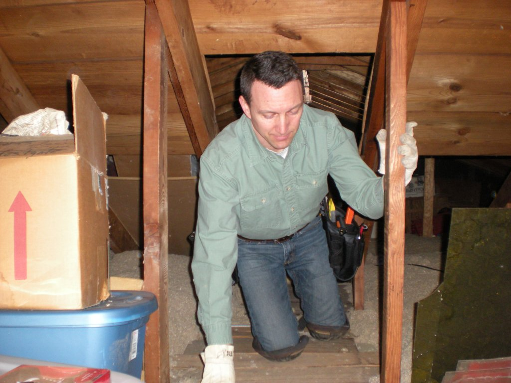 Attic Inspection in Powell, OH