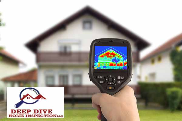 Thermal imaging home inspection in Hilliard, Ohio